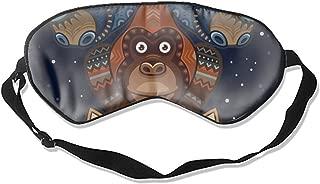 Sleep Mask, Blindfold Super Smooth Eye Mask Wild Totem Animal Eye Cover for Women Men Comfort Deep Eye Masks Best Lightweight Night Eyeshade Blinder Travel Airplane (Wild Totem Animal)