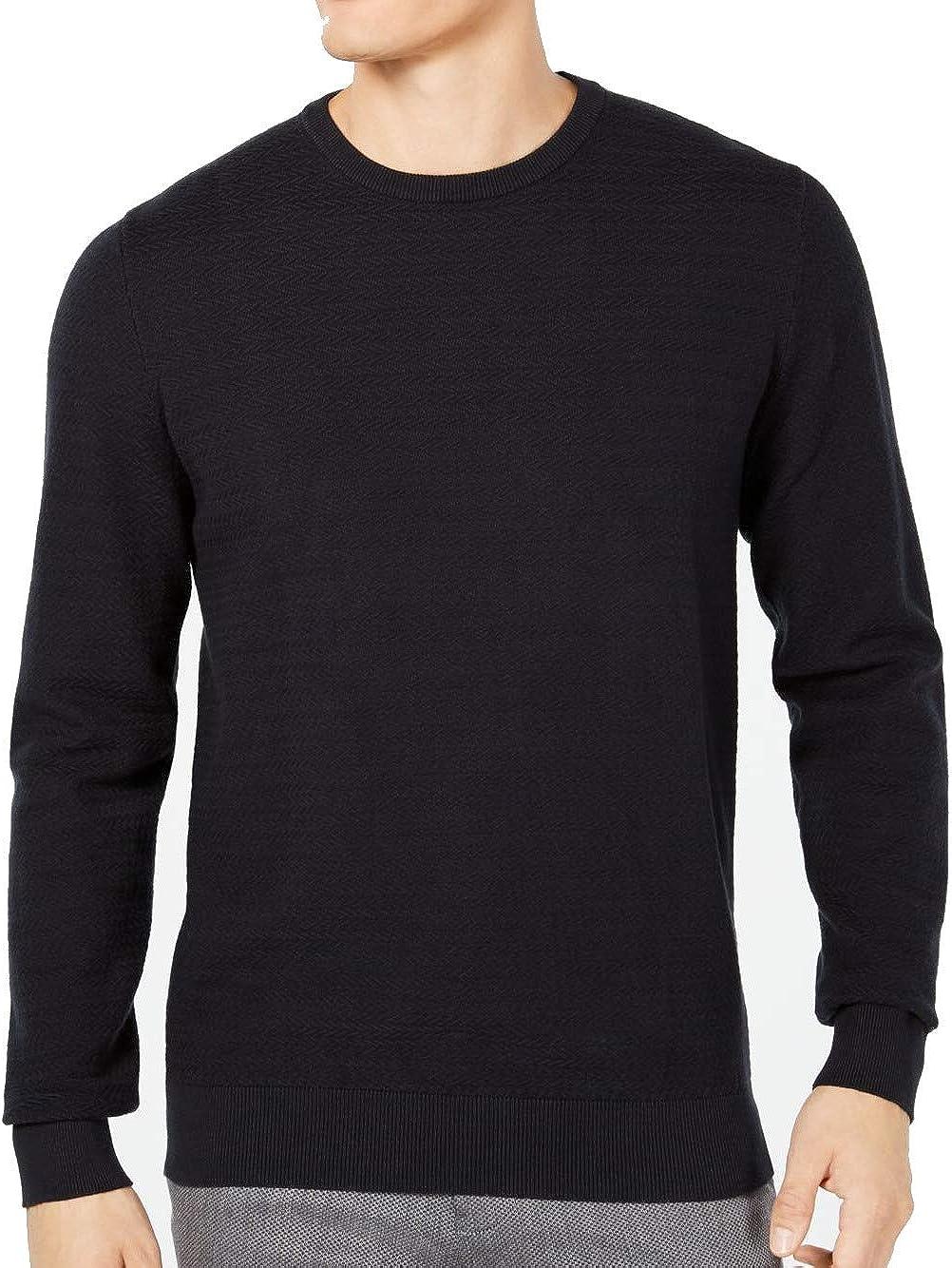 Ryan Seacrest Mens Chevron Pullover Sweater
