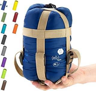 ECOOPRO Warm Weather Sleeping Bag - Portable, Waterproof, Compact Lightweight, Comfort With Compression Sack - Great For O...