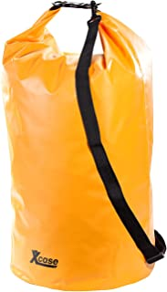 Xcase Packtaschen: Wasserdichter Packsack 70 Liter, orange Packsack Motorrad