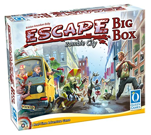 Queen Games 10331 - Escape Zombie City Big Box