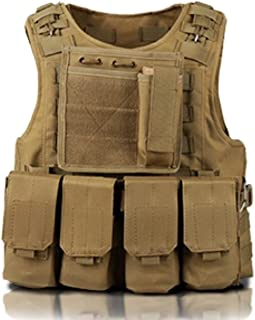 Military 7Miles Tactical Vest Survival Game MOLLE System Multicam Camouflage