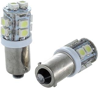 AERZETIX 2 x Bombillas LED 24V T4W Luz Blanco