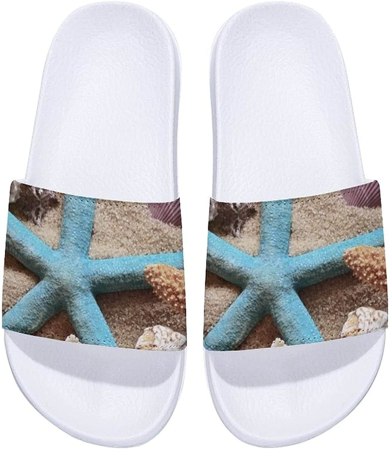 Shells And Starfish lowest price Pattern-1 Men's Women's and Comfort Slide It is very popular Sa