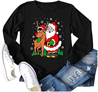 Christmas Sweatshirts for Women, Women Christmas Graphic...