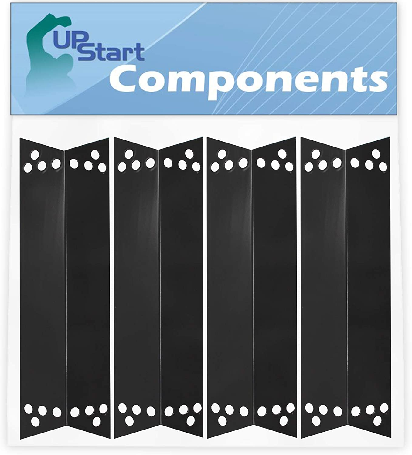 4-Pack 爆買い新作 BBQ お金を節約 Grill Heat Shield Plate Tent Ke for Parts Replacement