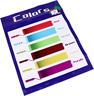 ملصقات ملونة ملونة من توياندونا ملصقات تعليمية ملصق تعليمي لمرحلة ما قبل المدرسة لوازم الحضانة المنزلية ديكور الفصول الدراسية