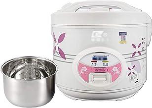 POETRY Cuiseur à Riz 3L-5L Doublure en Acier Inoxydable Domestique Mini cuiseur à Riz Cuiseur à Riz Multifonctionnel pour ...