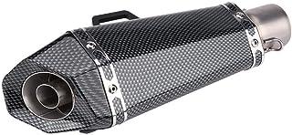Tubo de escape del silenciador de la motocicleta, tubo de silenciador de escape de escape universal de la motocicleta de 51 mm con DB Killer