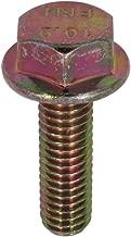 U-Turn - M6-1.00 x 20 mm Hex Flange Bolt Din 6921 10.9 Zinc Yellow (25 Pack)