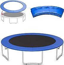 Tiyabdl Trampoline veiligheidspad, 6ft 8ft 10ft 12ft 13ft 14ft 15ft, veerafdekking voor trampoline, UV-bestendig, scheurbe...