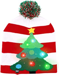 cf562898e Amazon.com: Holiday & Seasonal - Beanies & Knit Hats / Hats & Caps ...