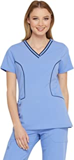 Xtreme Stretch Women's V-Neck Solid Scrub Top