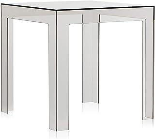 Kartell Jolly Mesita, Gris (Fume' Light), 40x40x44 cm