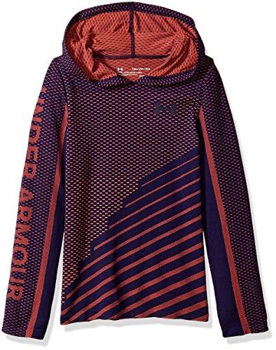 Under Armour - Fitness-Pullover & -Sweatshirts für Mädchen in After Burn (877) Schalter, Violett, Größe XL