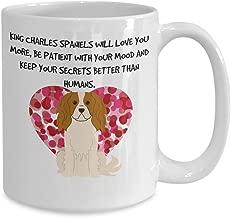 Cavalier King Charles Spaniel Mom - 15 oz Cermaic Mug