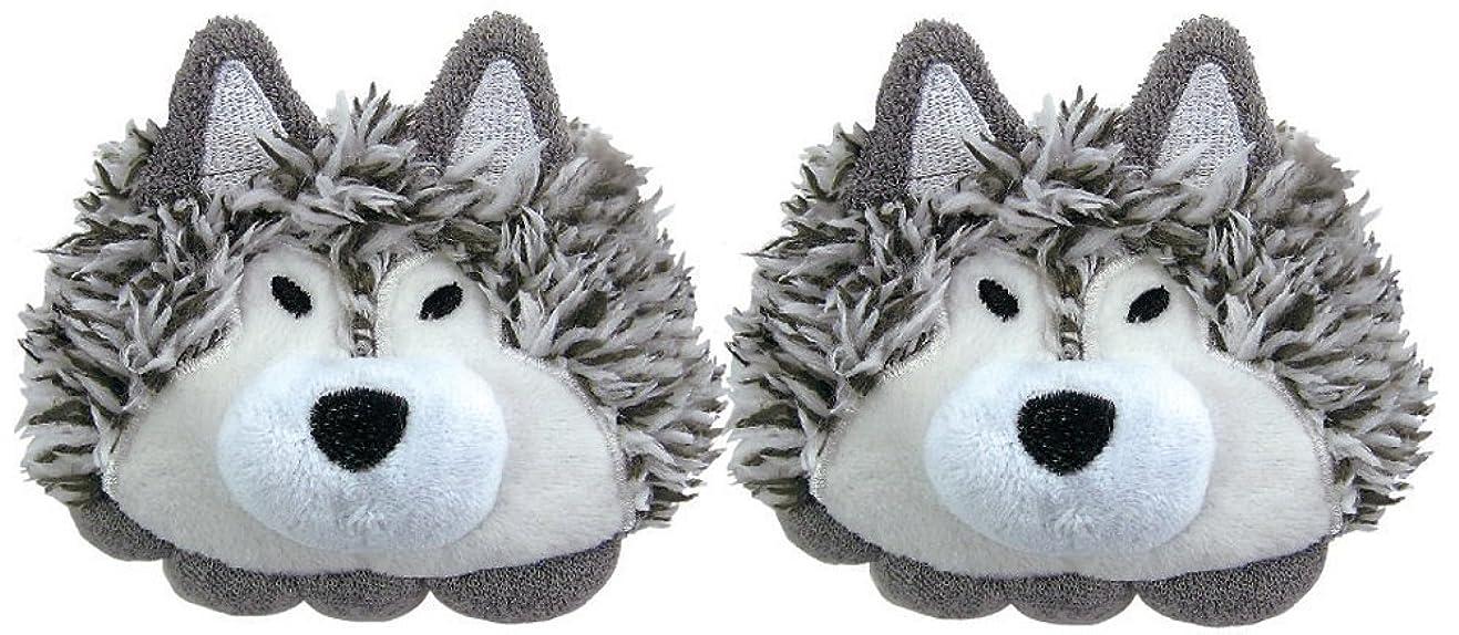 人口硬い有名ホルティ 足指セパレーター (両足用2個セット) オオカミ