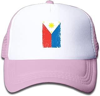 Predatorda RetroStyle Flag Of Hope Boy's Mesh Snapback Hat Cap