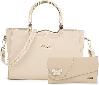 Exotic combo hand bag