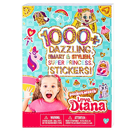 Fashion Angels Love, Diana 1000+ Sticker Book, Multi (56200)