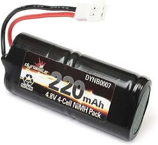 Dynamite 4.8V 220mAh NiMH Pack: Micro SCT, Rally, Truggy, DYNB0007