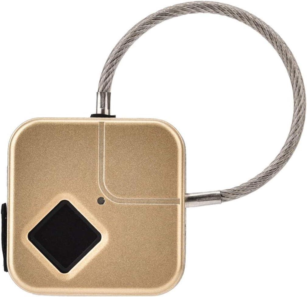 WODMB Smart fingerprint Jacksonville Mall Ultra-Cheap Deals reader lock waterpro door bags