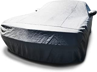 CarsCover Custom Fit 2013-2019 Dodge Challenger Car Cover 5 Layer Ultrashield Gray Covers (R/T, SRT, T/A, SXT, HELLCAT)