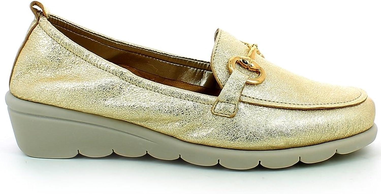 The Flexx chaussures Mocassino Bon Ton femmes C2501-27 CRACKELE or Prima  Estate 2018