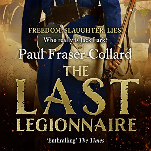 The Last Legionnaire audiobook cover art