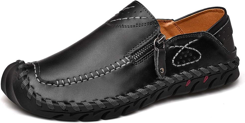 Zipper utan glidmedel, mjukt komfortabel lättviktare Oxfords Oxfords Oxfords vandrande skor  gratis frakt