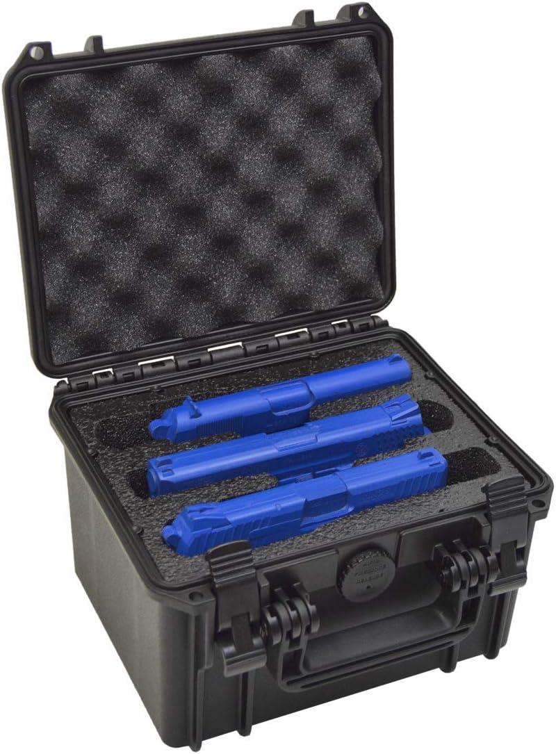 3 Pistol Doro Waterproof Triple Gun Case with Custom Mycasebuild