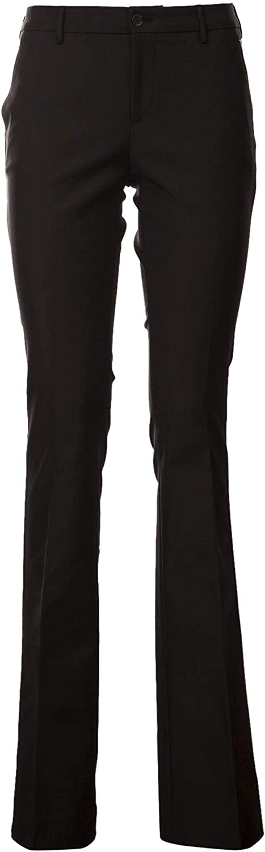 PT01 Women's VSBTZ00AMFLD010990 Black Polyester Pants