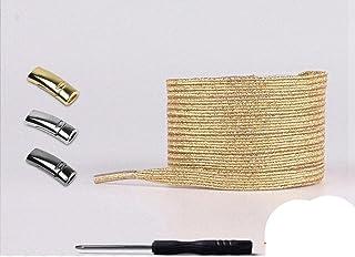 Lacets élastiques Boucle Aucun lacet de cravate Types de chaussures Lacets paresseux Métal magnétique Convient à tous les ...