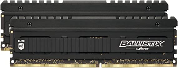 Crucial Ballistix Elite 4000 MHz DDR4 DRAM Desktop Gaming Memory Kit 16GB (8GBx2) CL18 BLE2K8G4D40BEEAK