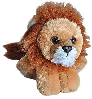 Wild Republic 16237 Lion Plush, Stuffed Animal, Plush Toy, Gifts for Kids, Hug'ems 7', Brown