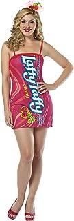 Girl's Laffy Taffy Cherry Tank Dress Funny Theme Halloween Teen Costume