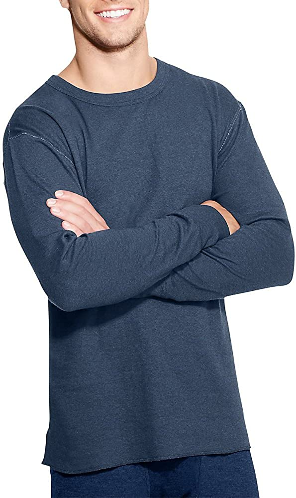 Duofold by Champion Originals Wool-Blend Men's Thermal Shirt_Blue Jean_XX-Large