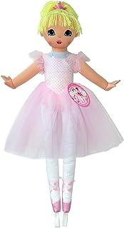 دمية ويل ميد من انكو للاطفال، شخصية لا بيلا باليرنا، طول 36 انش، زهري