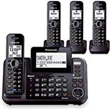 $259 » Panasonic KX-TG9542B Dect 6.0 2-Line Cordless Phone w/ Link-to-Cell & 2-Handsets + 2-Pack 2 Line Handset For KX-TG954X