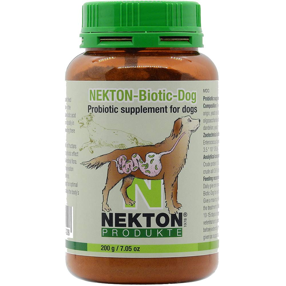 Nekton Biotic-Dog Probiotic Supplemnt for Dogs 200gm (7oz)