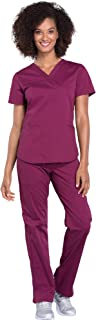 Best wine colored scrubs sets Reviews