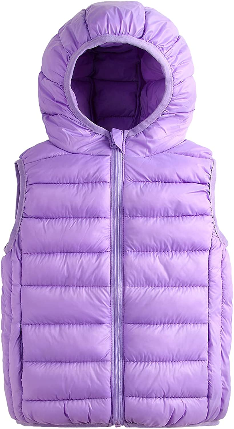 ELIKIDSTO Max 84% OFF Boys Girls Lightweight San Francisco Mall Packable Warm Cotton Hood Down
