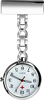 TERSELY Nurse Lapel Pin Fob Watch Nursing Hanging Medical Doctor Pendant Pocket Watch