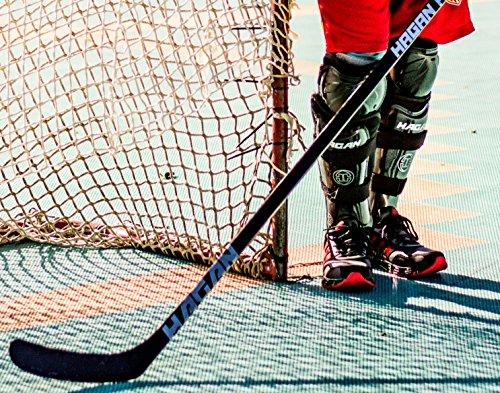 "Hagan H-7 Hockey Adjustable Shin Pads (Senior 13""-15"")"