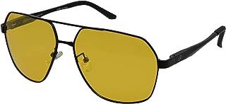 ريترو نظاره شمسيه للرجال - لون اصفر