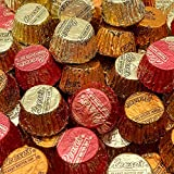 Holiday Candy REESE'S Peanut Butter Miniatures Cups, Foiled Wrapped Chocolate Candy - Bulk, 2 Lbs