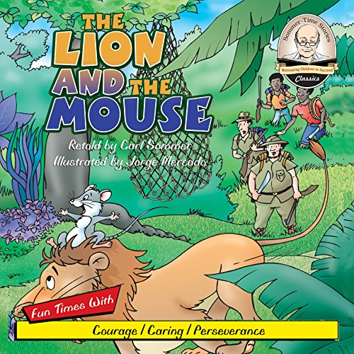 The Lion and the Mouse audiobook cover art