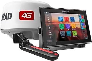 Simrad GO12 XSE, Basemap, TotalScan, 4G Radar