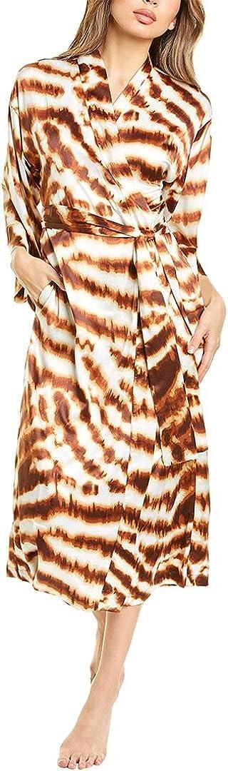 N Natori Women's Ethereal Tiger Satin Robe
