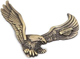 sourcing map 1 Stück Kupfer Ton Metall für Eagle Form Auto Exterior 3D Aufkleber Decor